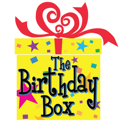 The Birthday Box Mobile Retina Logo