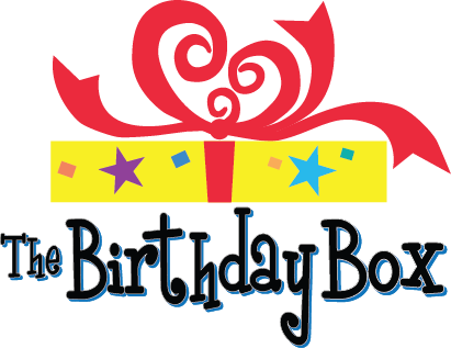 The Birthday Box Sticky Logo Retina